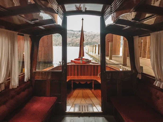 Inside The Osprey Windermere Jetty Museum