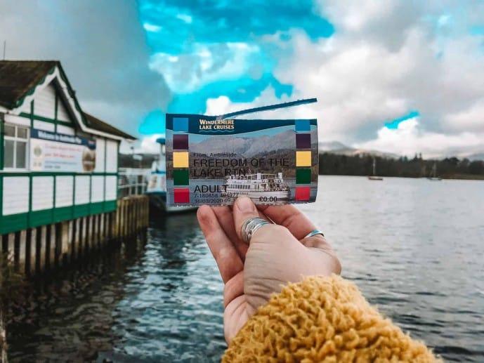 Windermere Lake Cruise Freedom of the Lake ticket