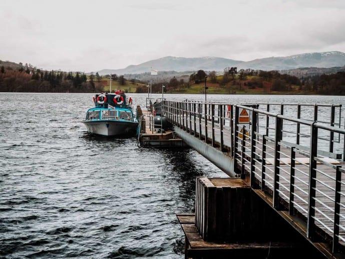 Brockhole Pier Windermere Lake Cruises