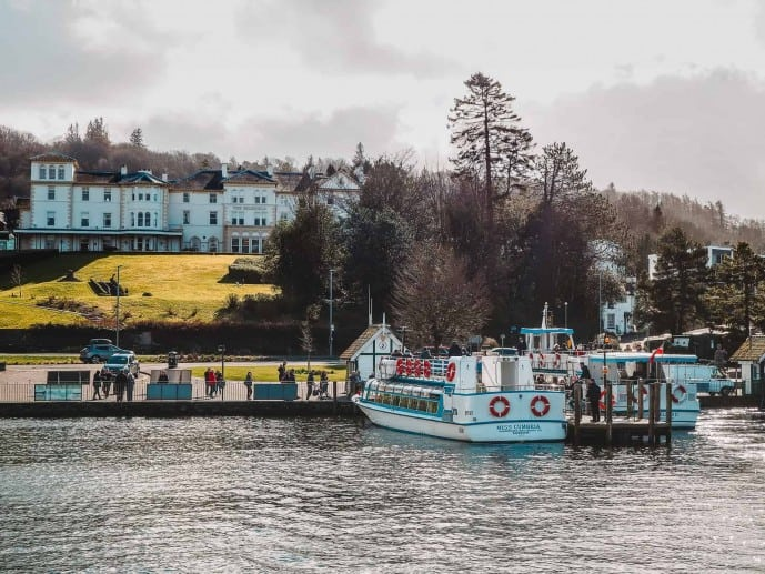 Bowness Pier Lake Windermere