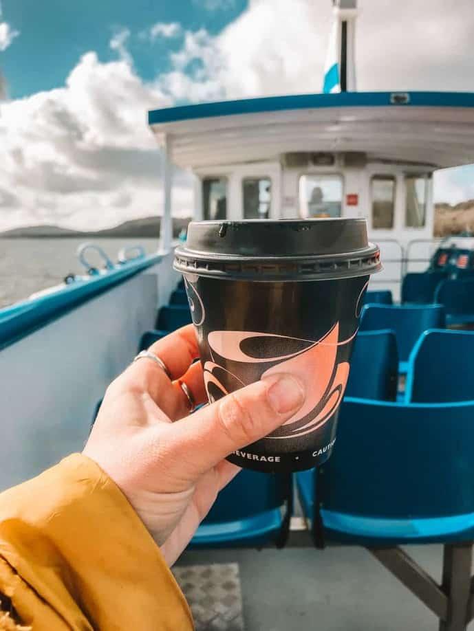 Windermere Lake Cruises cafe