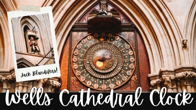 Wells Cathedral Clock video