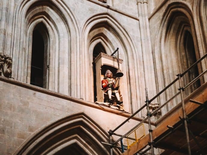 Jack Blandifers Wells Cathedral Clock