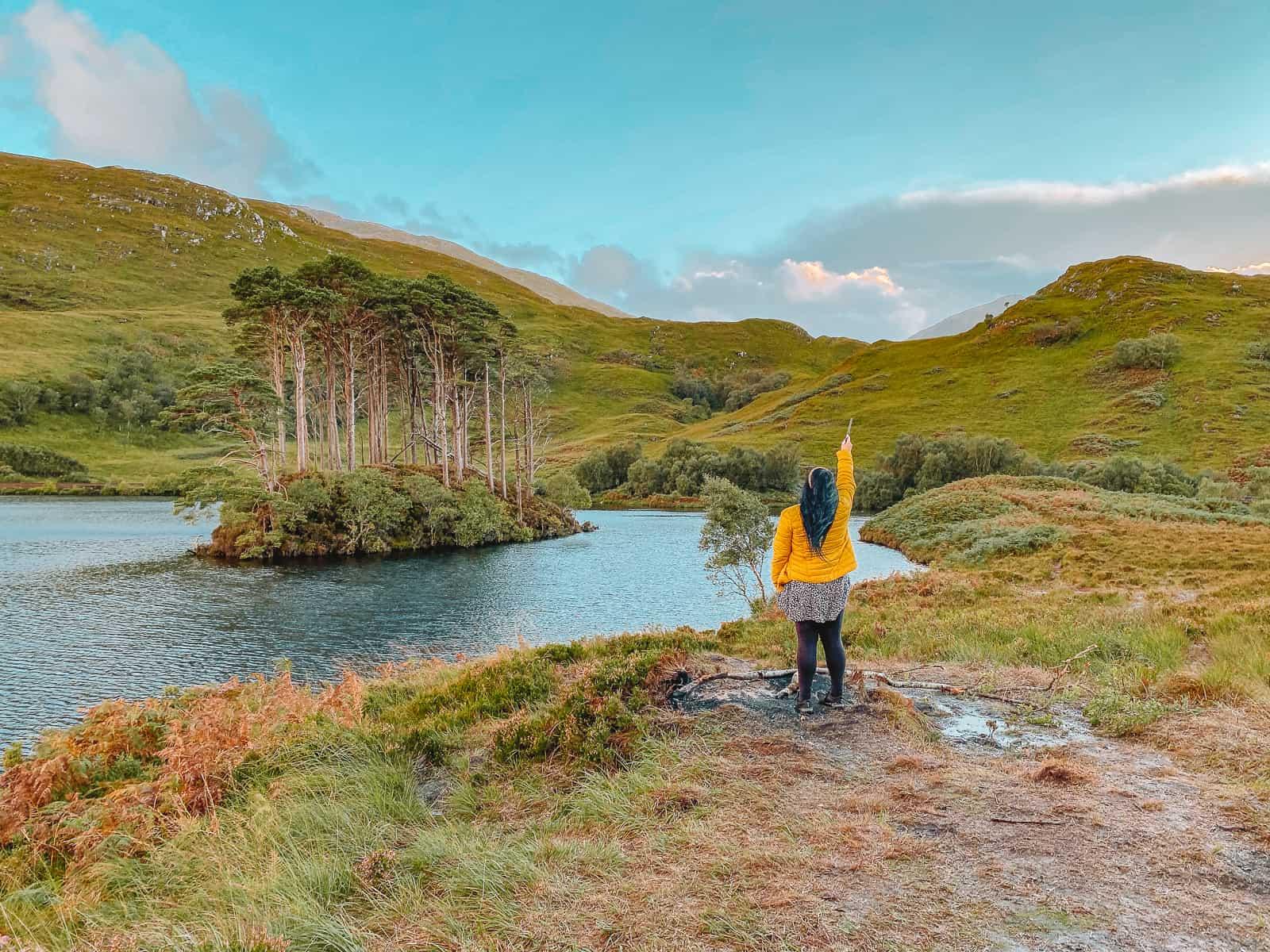 Where is Dumbledore buried? Eilean Na Moine Scotland Loch Eilt Harry Potter