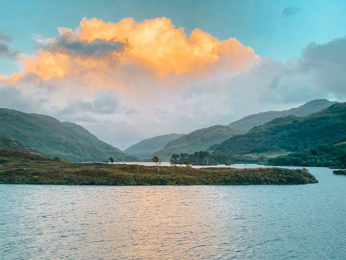 Loch Eilt Harry Potter gReat lake at Hogwarts