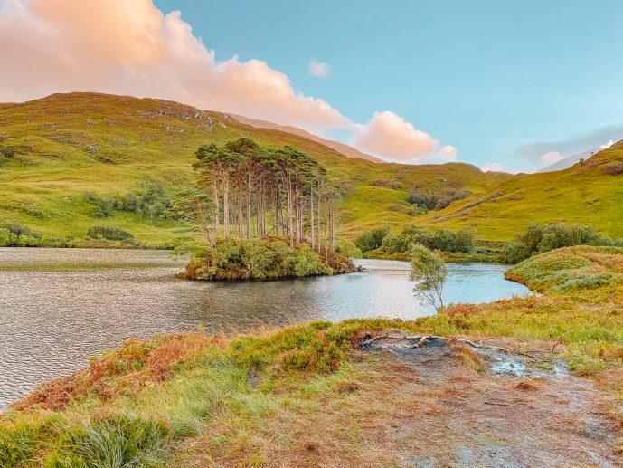 Eilean Na Moine Dumbledore's burial island