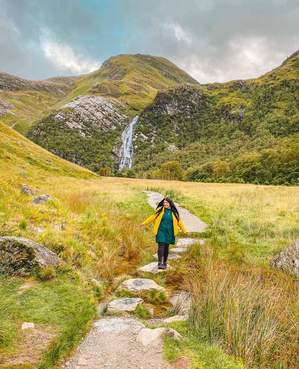 Steall Waterfall Glen Nevis Scotland