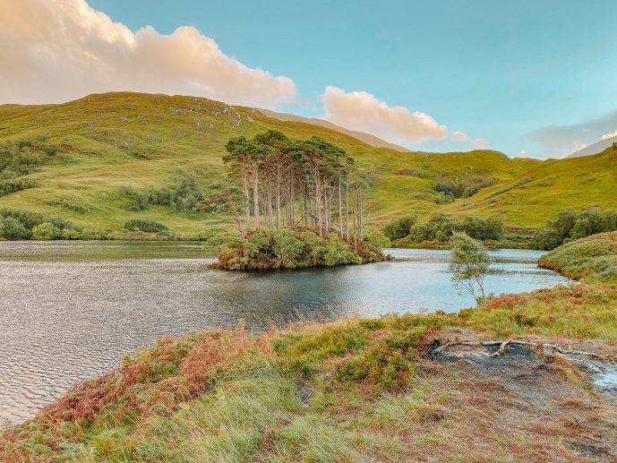 Loch Eilt Eilean Na Moine Scotland
