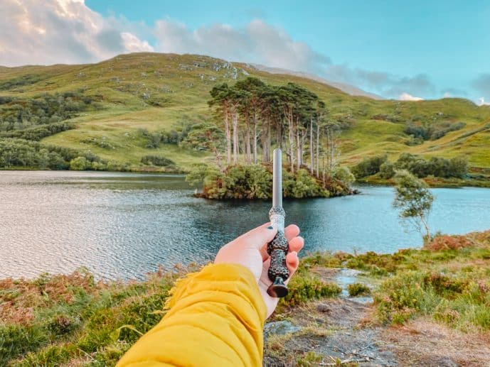 Where is Dumbledore Buried Scotland Elder Wand Eilean Na Moine
