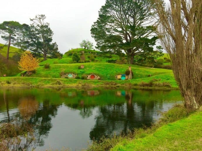 Where is the Hobbit Filmed in New Zealand