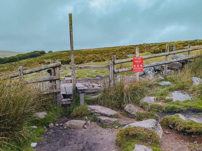 Cross over the Stile to Wistmmans Wood Walk