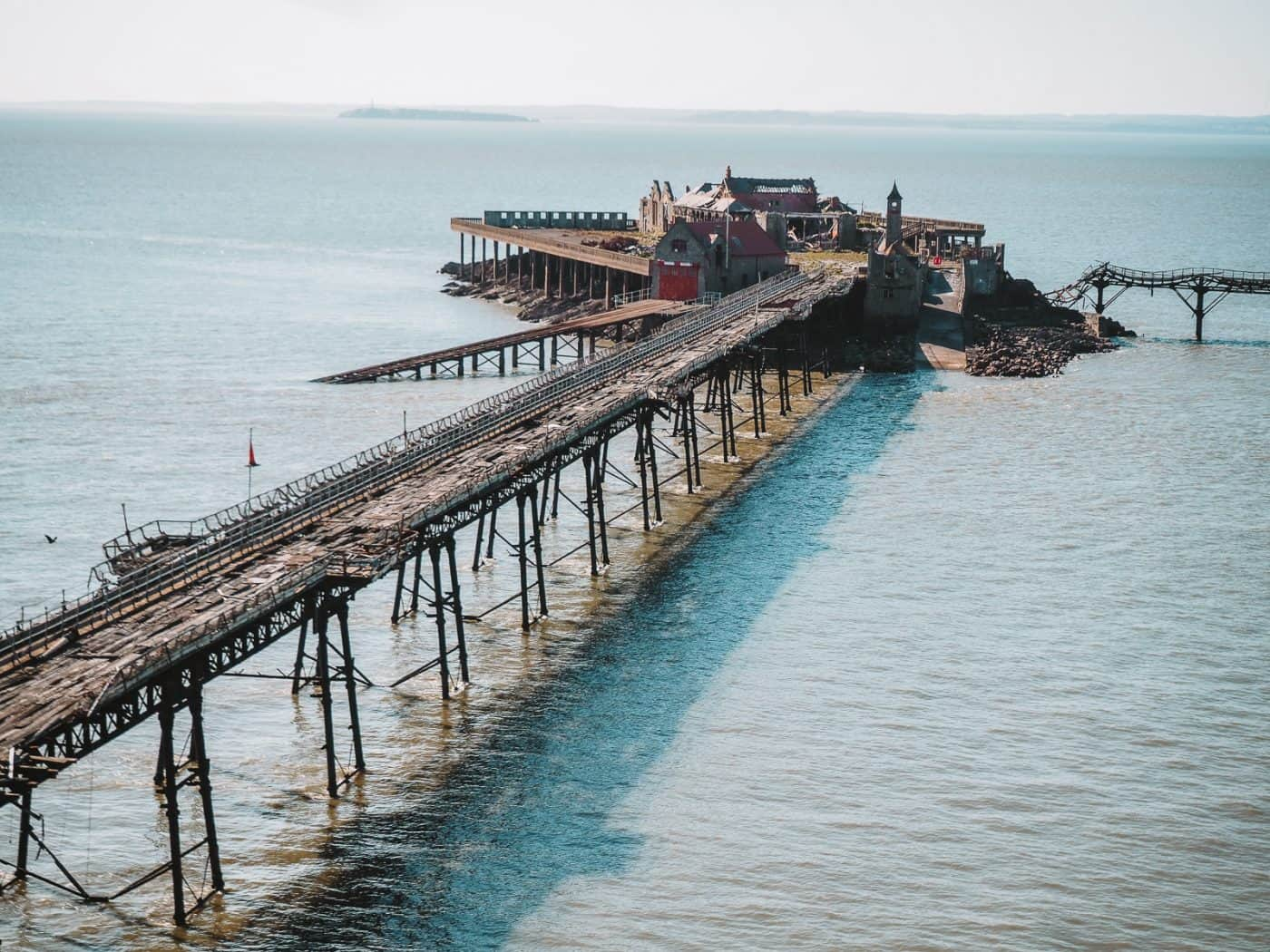 Birnbeck Pier Weston-super-Mare abandoned