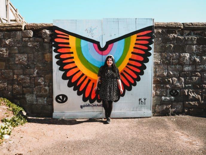 Rainbow Angel Wings Birnbeck