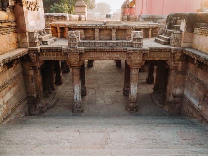 The entrance to Adalaj Ni Vav Ahmedabad
