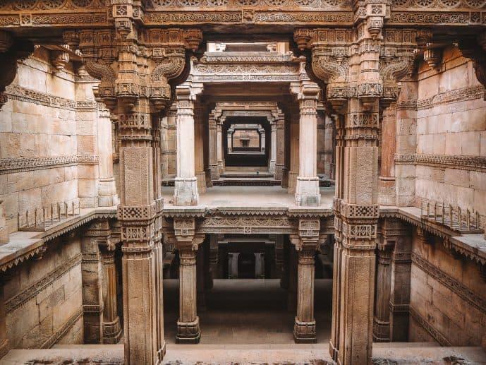 Adalaj Stepwell Gujarat India