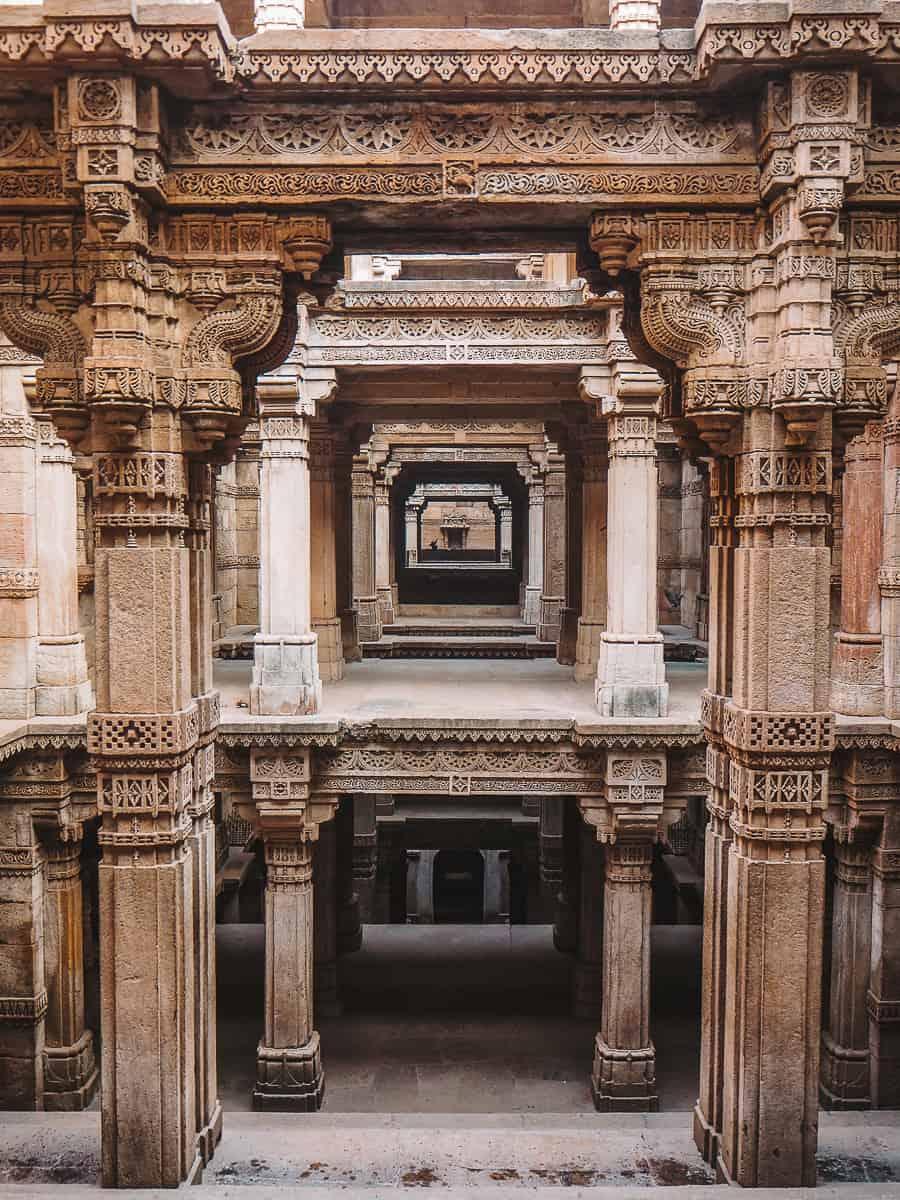 Adalaj Stepwell Ahmedabad Gujarat