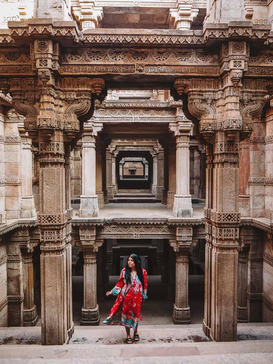 Adalaj Ni Vav Stepwell Ahmedabad Gujarat