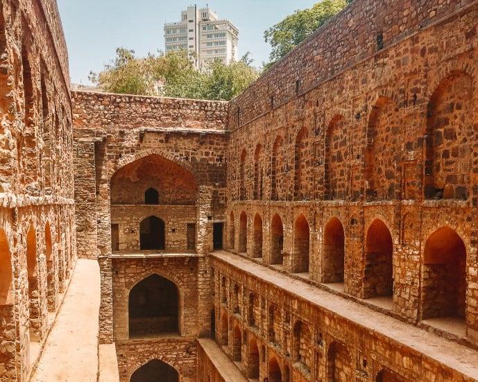 Agrasen Ki Baoli Stepwell Delhi haunted