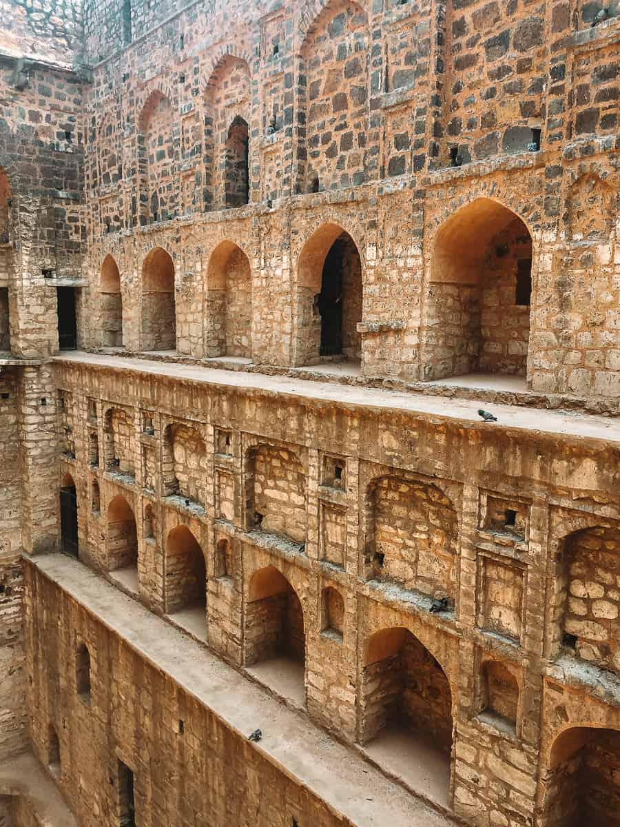 Agrasen Ki Baoli Stepwell Arches