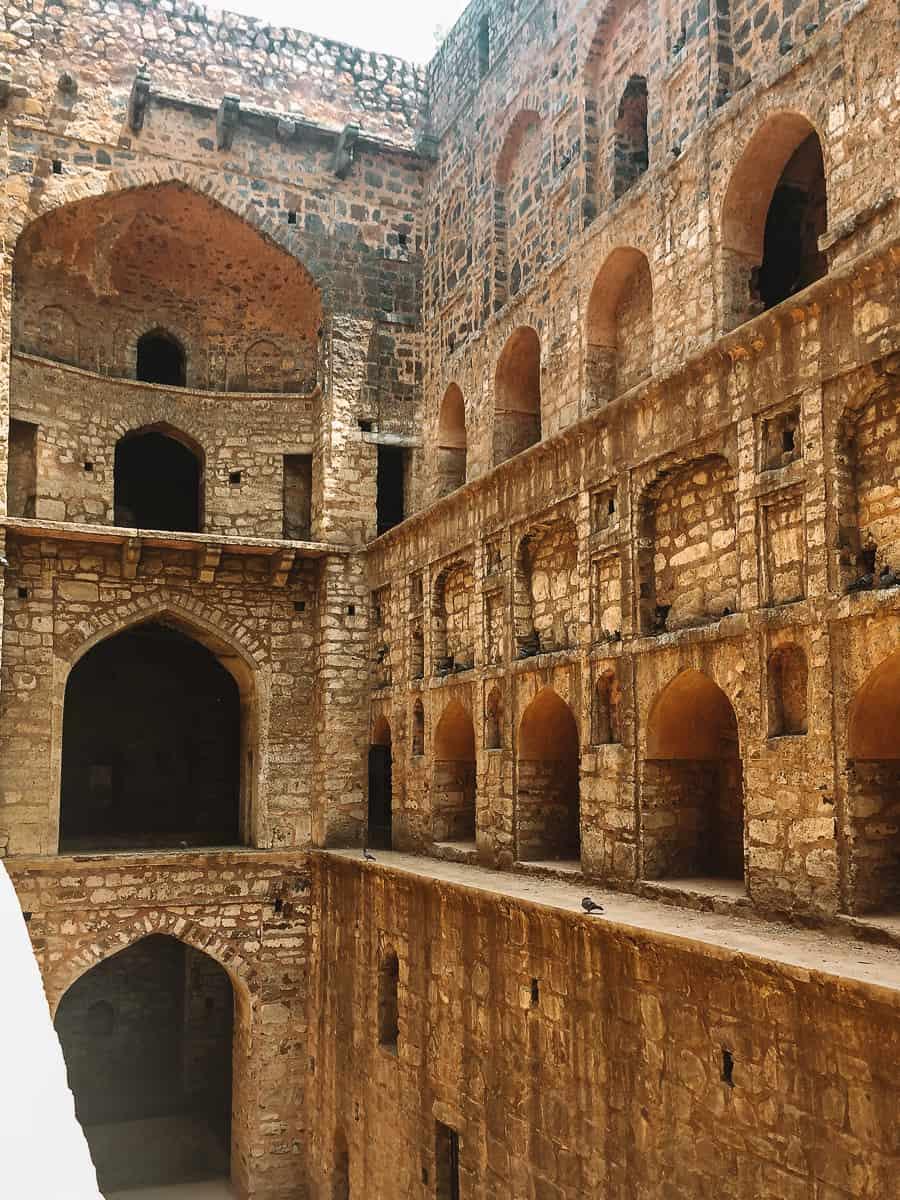 Agrasen Ki Baoli stepwell arches most haunted place in Delhi