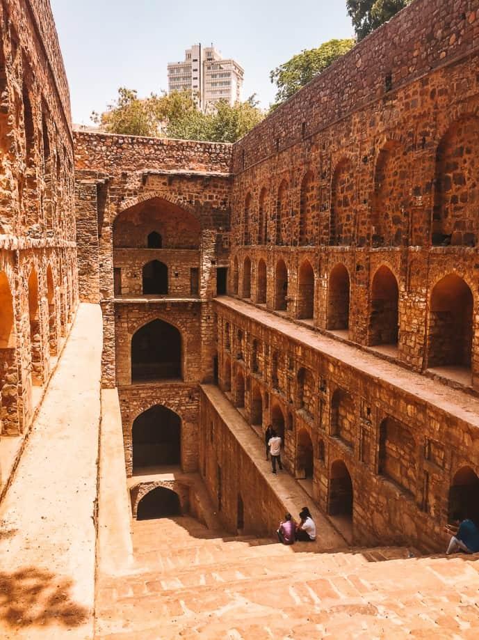 Agrasen Ki Baoli Stepwell Delhi