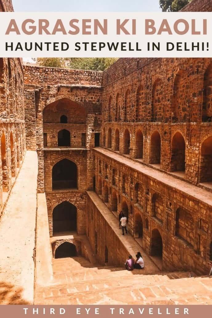 Agrasen Ki Baoli Haunted place in Delhi