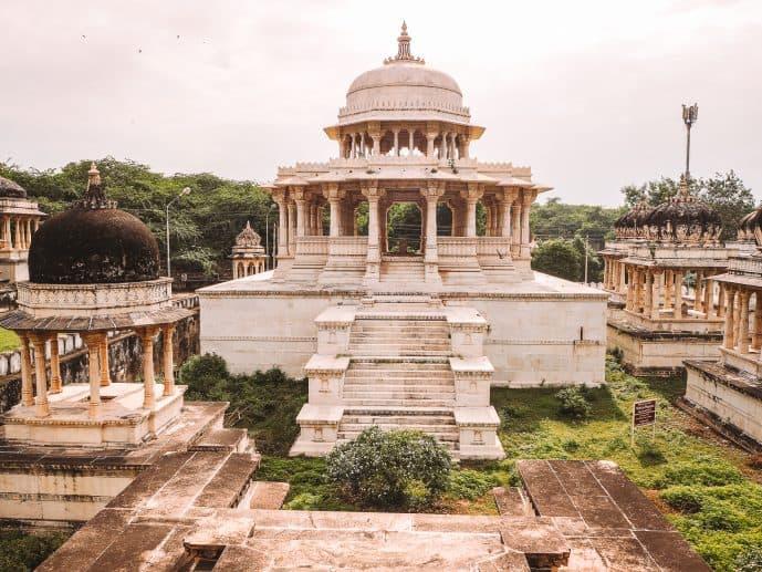 Ahar Cenotaphs in Rajasthan