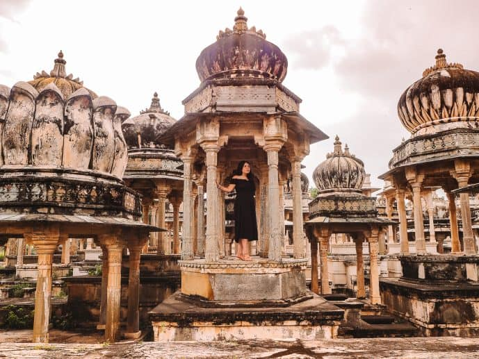 Ahar Cenotaphs Udaipur Rajasthan India