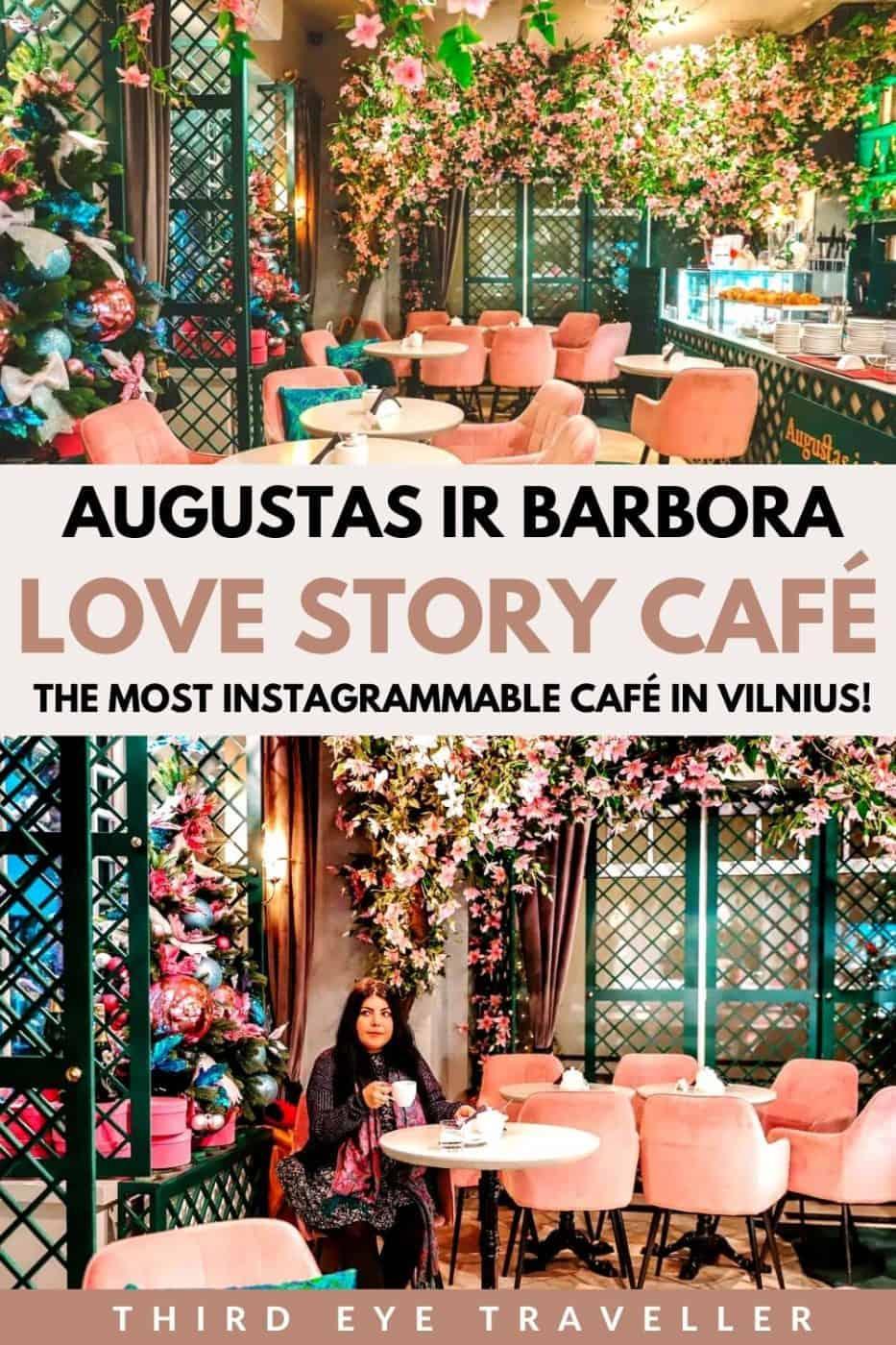 Augustas Ir Barbora Love Story Cafe Vilnius