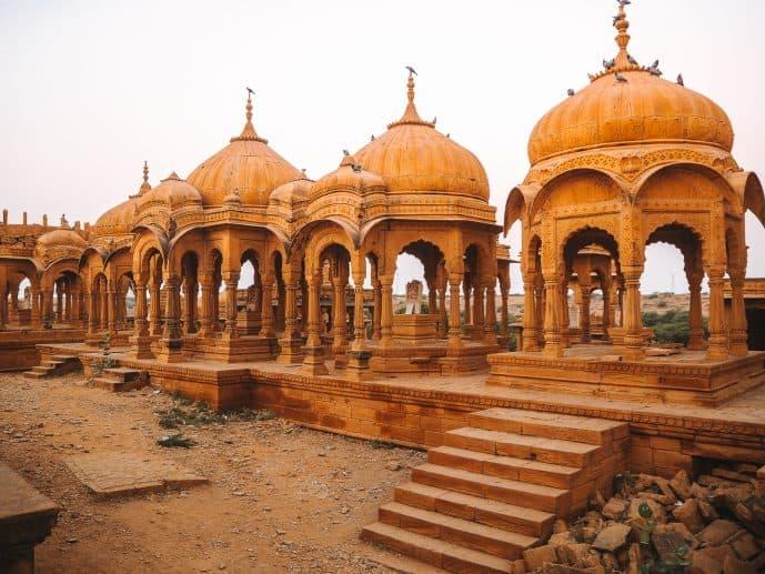 Cenotaphs Chhatris Jaisalmer