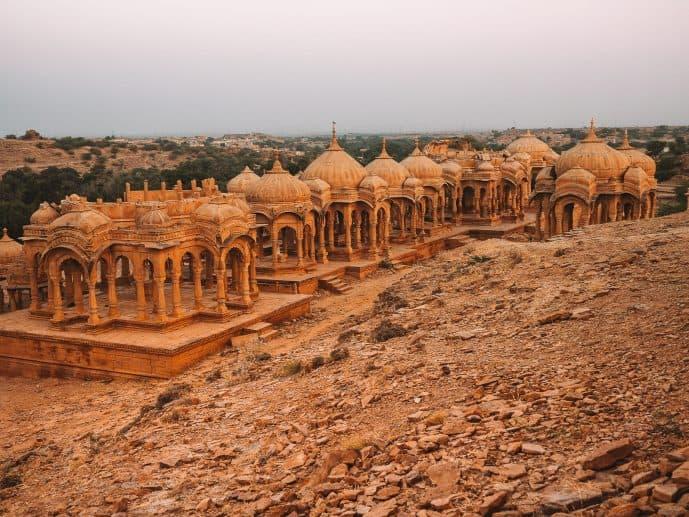 Bada Bagh Cenotaphs Jaisalmer Rajasthan
