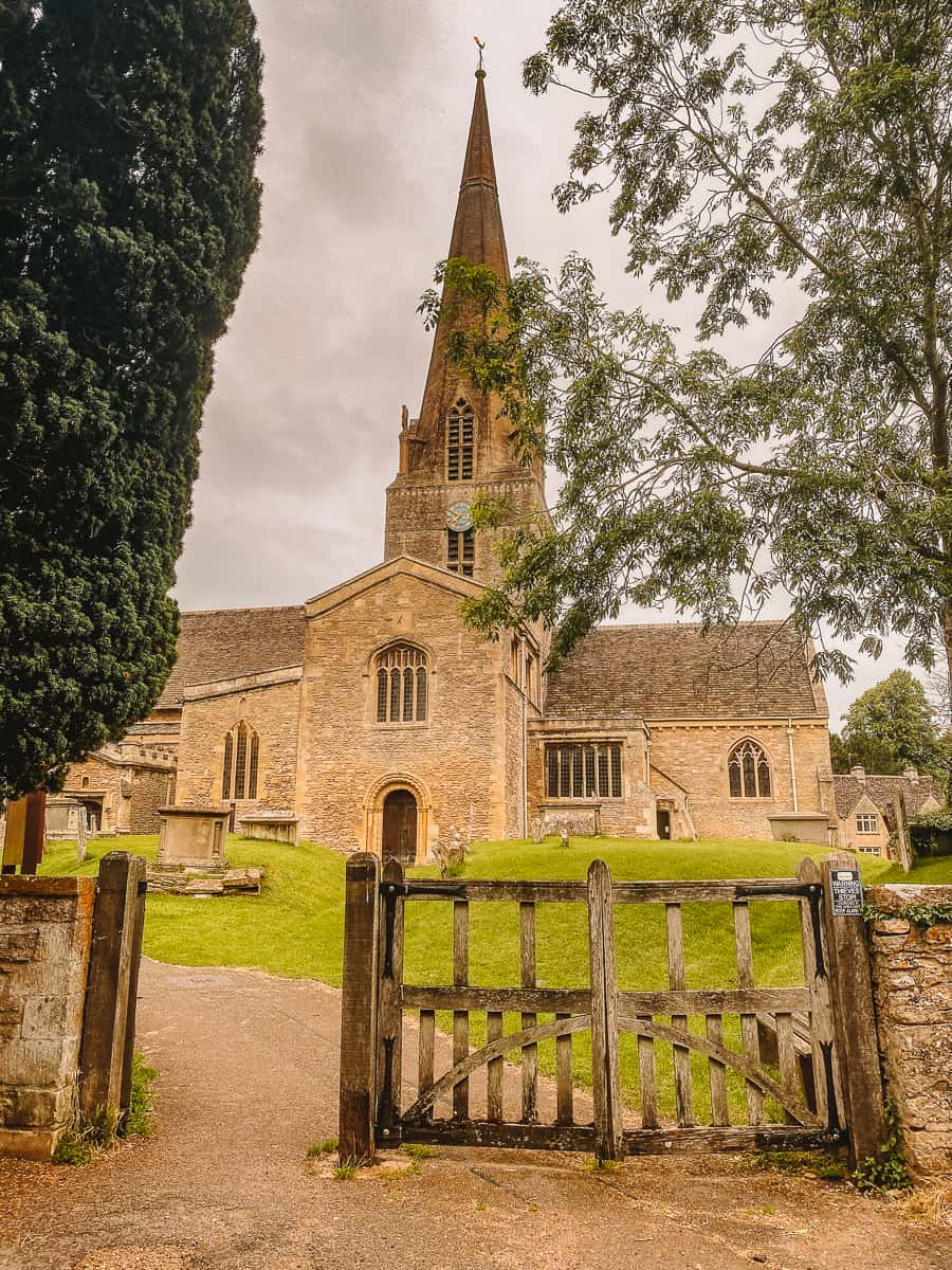 The Downton Abbey Church In Bampton