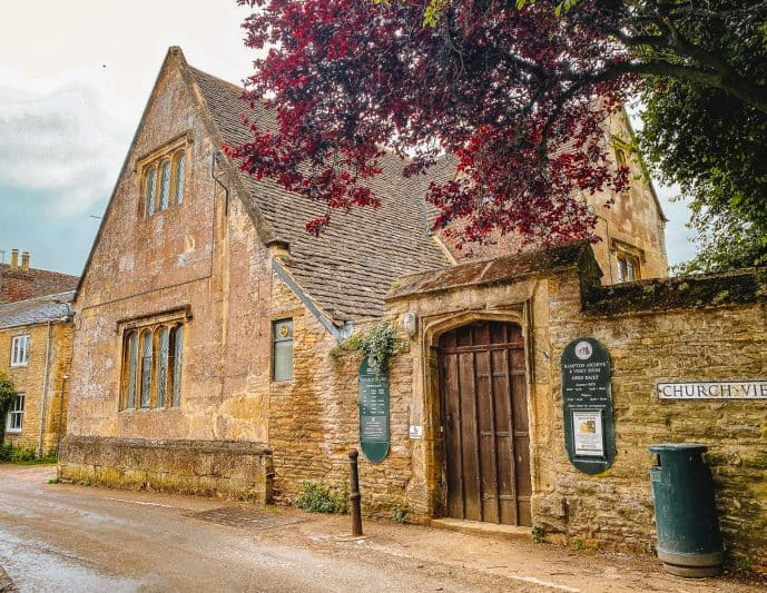 Bampton Library as Downton Abbey Hospital filming location