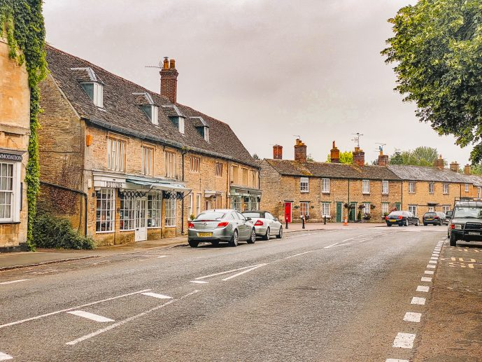 Bampton Village Oxfordshire Cotswolds