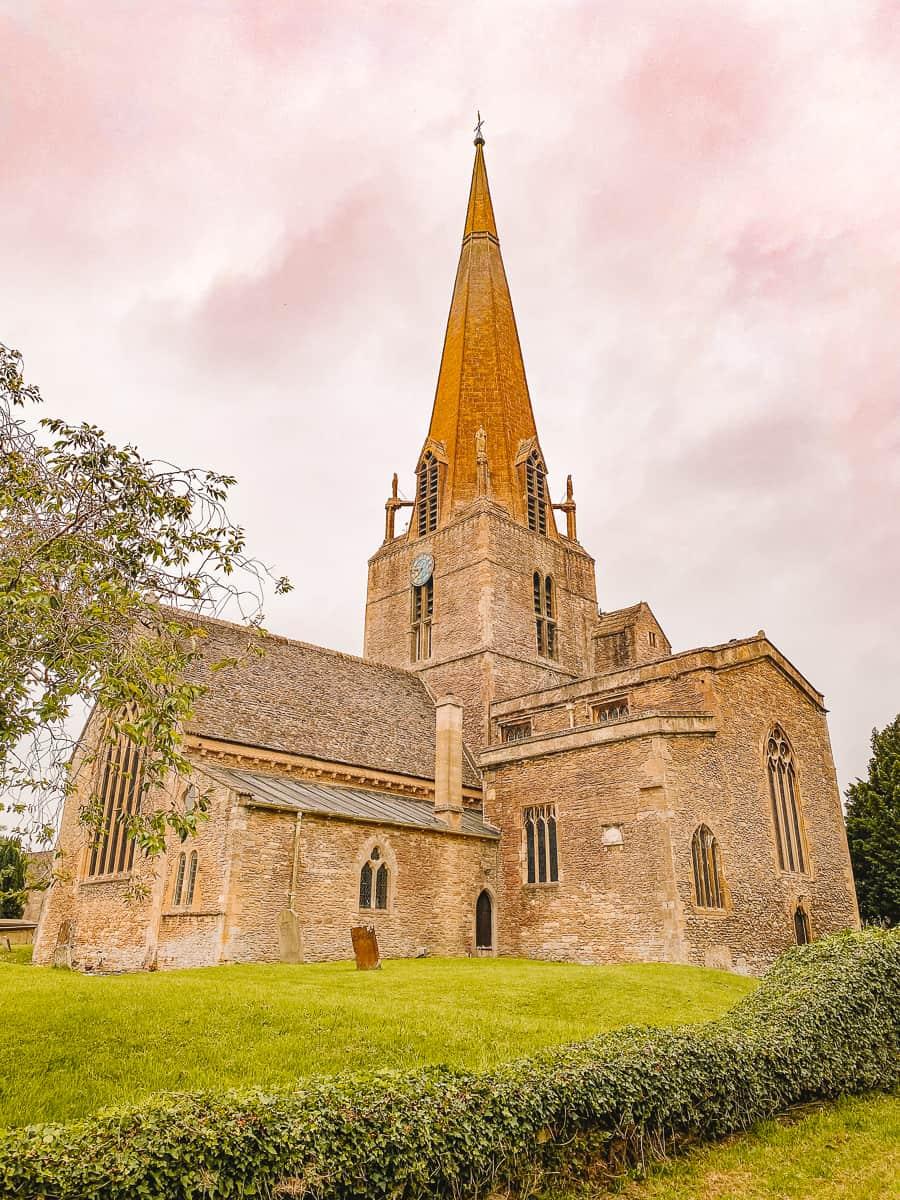 Bampton Church of St Mary's Oxfordshire