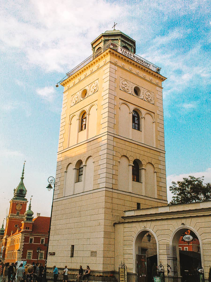 The Bell Tower of St Anne's Church Warsaw
