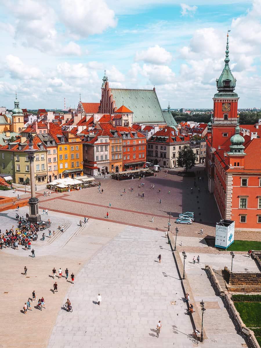 Warsaw St Anne's Church Observation Deck