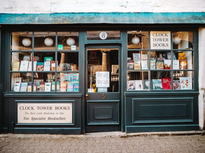 Clock Tower Books Best Hay-on-Wye Bookshops