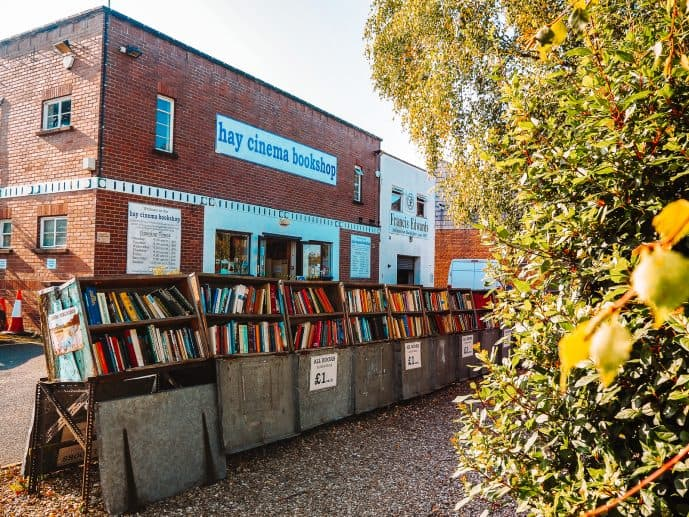 The Hay Cinema Bookshop Best Hay-on-Wye Bookshops
