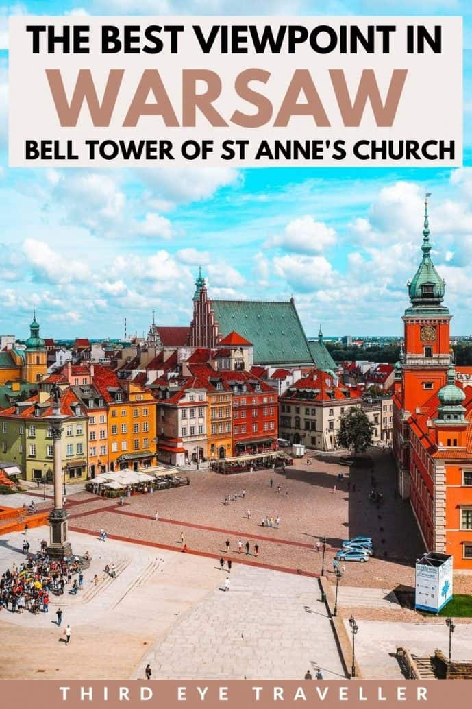 Bell Tower of St Anne's Church in Warsaw Observation Deck