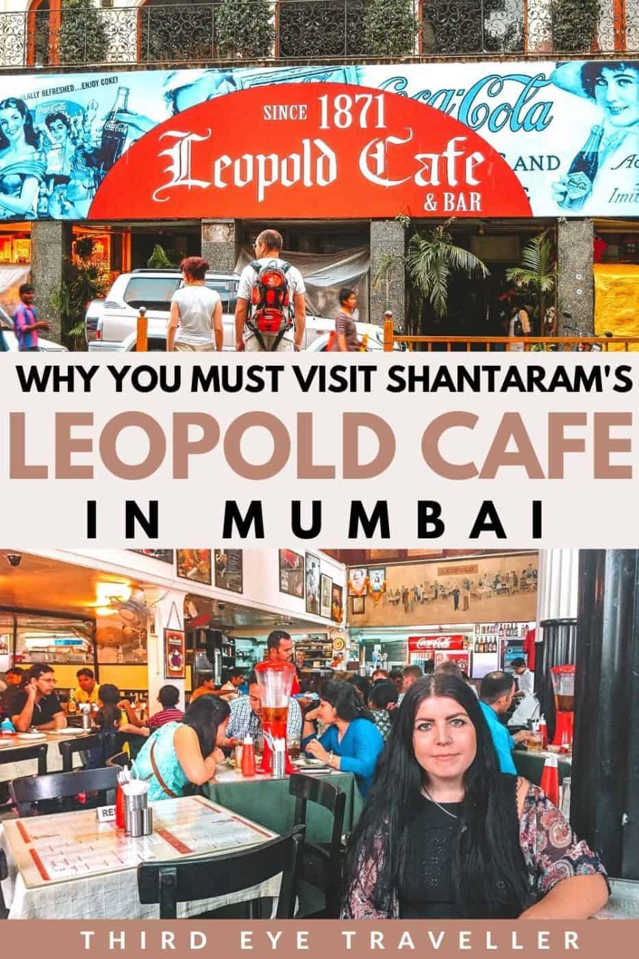 Shantaram Leopold Cafe in Mumbai