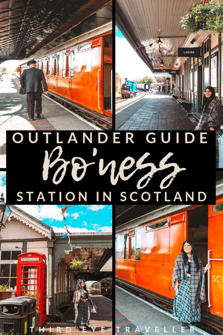 Bo'ness and Kinneil Railway Bo'ness Station Outlander