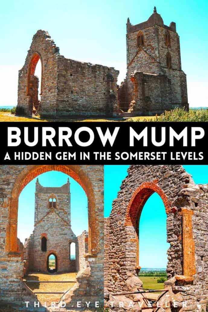 Burrow Mump Somerset Levels