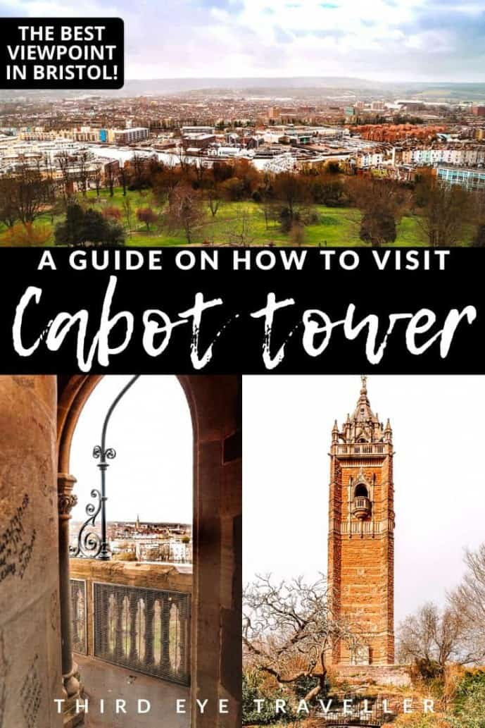 Cabot Tower on Brandon Hill | Best Viewpoint in Bristol