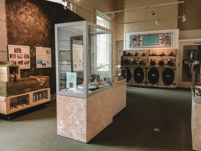 Antonine Wall artefacts on display in Callendar House