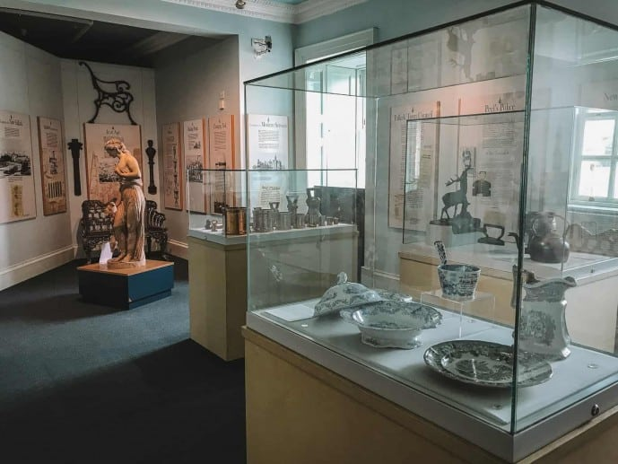 Callendar House museum displays