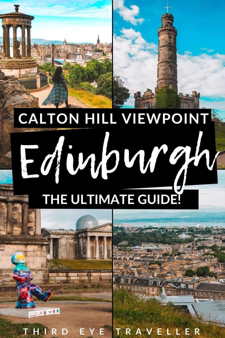 Calton Hill Edinburgh Guide