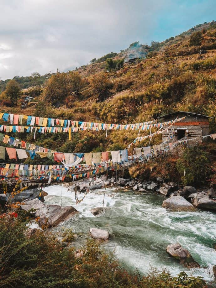 Chaksam Bridge Tawang Arunachal Pradesh