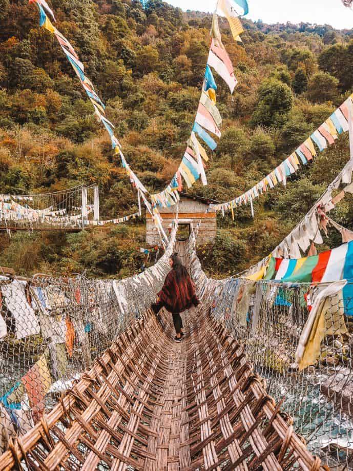 Chakzam Bridge Arunachal Pradesh