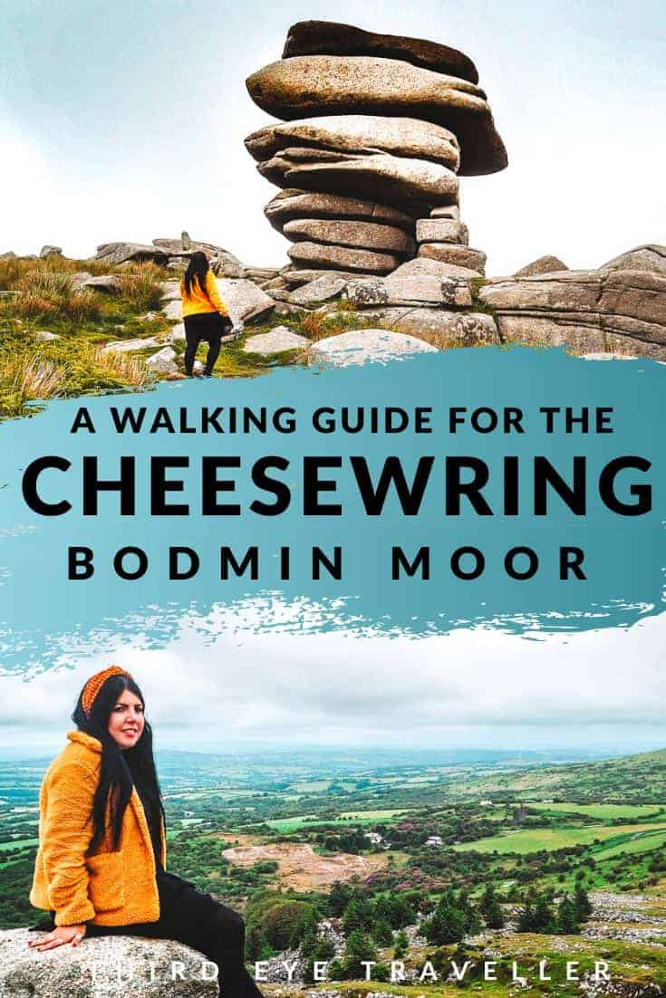 The Cheesewring walk Bodmin Moor